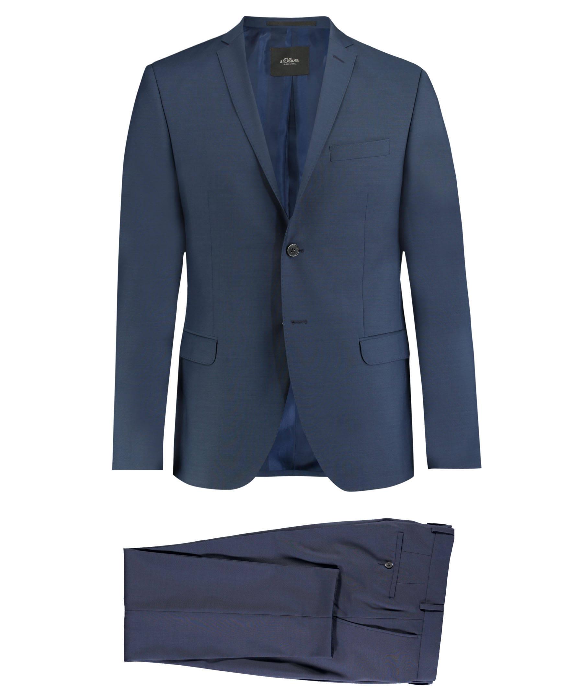 s.Oliver Slim Fit Anzug für 94,90 € bei Engelhorn
