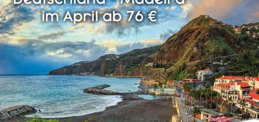 Madeira Reise