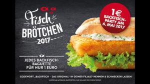 Weltfischbrötchentag 2018 Nordsee